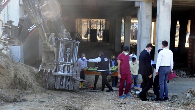 Devrilen forkliftin altında kalan işçi öldü