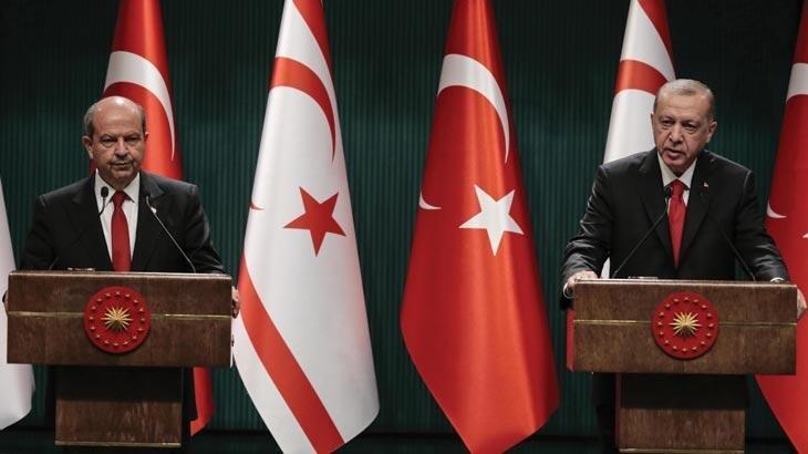 Erdoğan ve Tatar'dan ortak açıklama! 'Türkiye'yi hesaba katmadan çözüme ulaşılmaz'