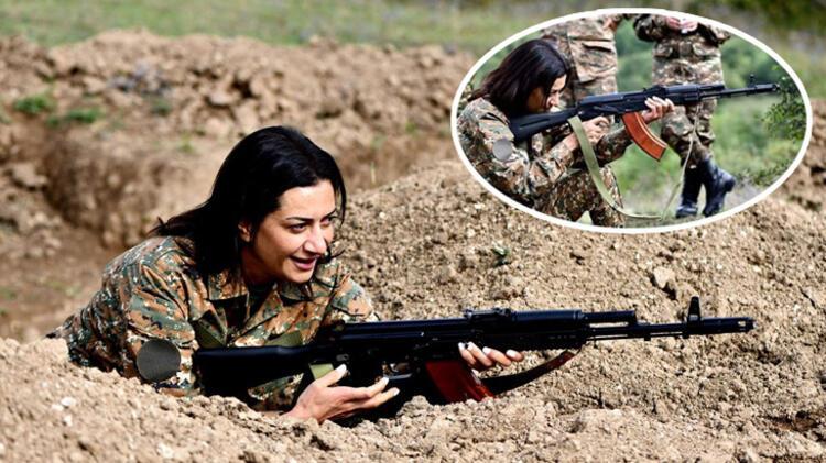 Ermenistan ne yapacağını şaşırdı! Paşinyan'ın eşi cepheye gidiyor