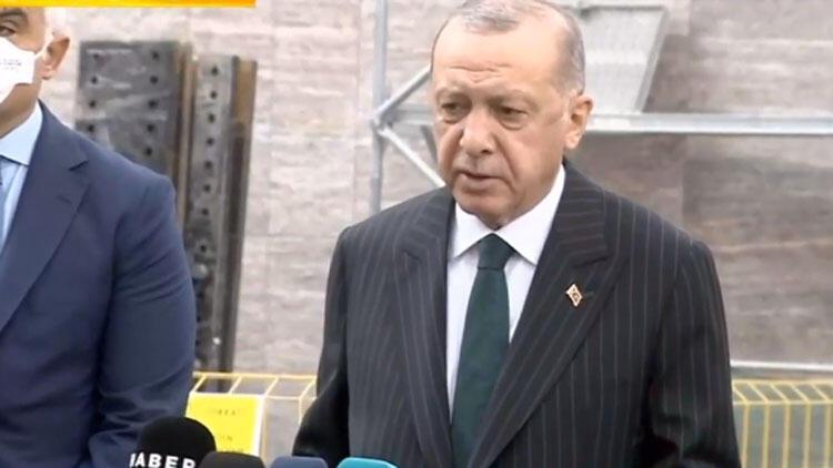 Cumhurbaşkanı Erdoğan'dan Mesut Yılmaz'ın ölümüyle ilgili açıklama