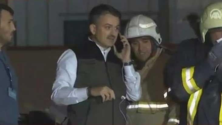 Enkazda kalan vatandaşa ulaşıldı! Bakan telefonla konuştu