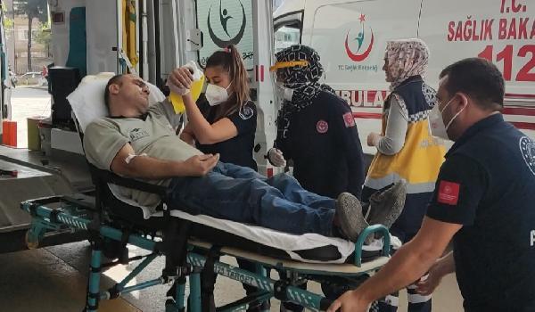 Bursa'da korkunç olay! Yardımına arkadaşları koştu