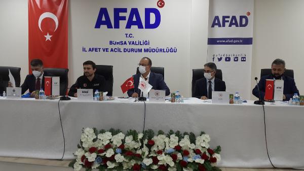AFAD Başkanı'ndan Bursa'da önemli açıklamalar