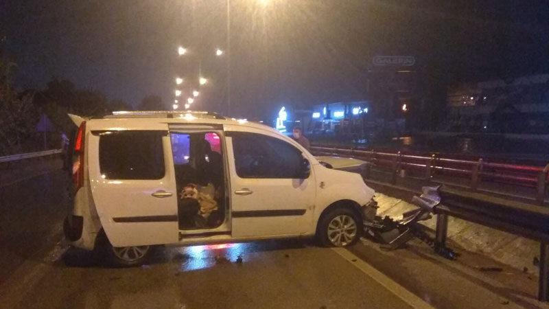 Bursa'da feci kaza: 1 yaralı