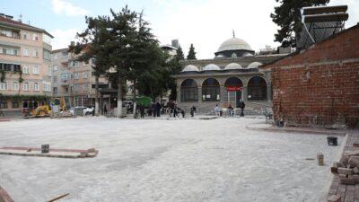 Suyolu Camii bahçesi genişliyor