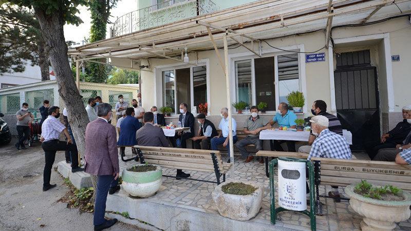 Başkan Taban Yiğitköy Ve Hasanpaşa sakinleriyle buluştu