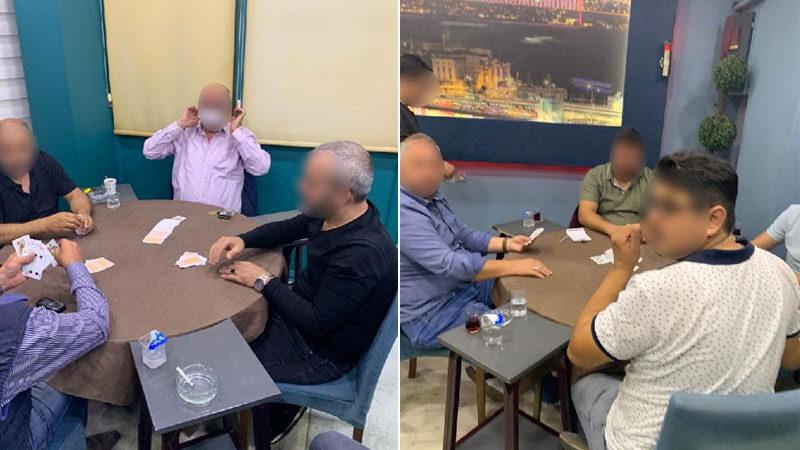Bursa'da kahvehaneye şok baskın