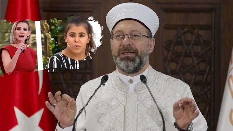 Ali Erbaş'tan Esra Erol'a yasak ilişki tepkisi! 'Reyting adına…'