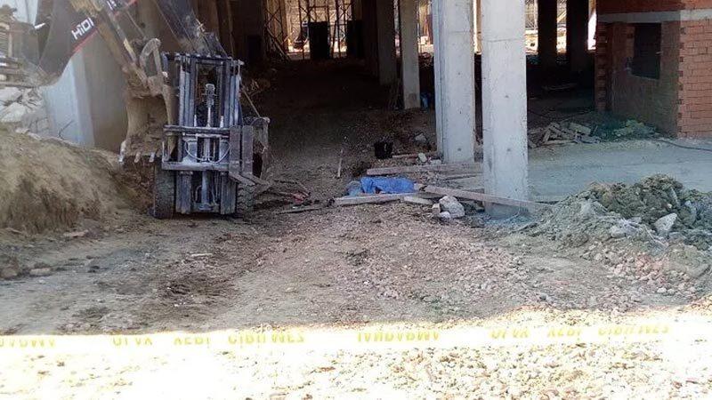 Acı olay! Forkliftin altında kalan işçi hayatını kaybetti