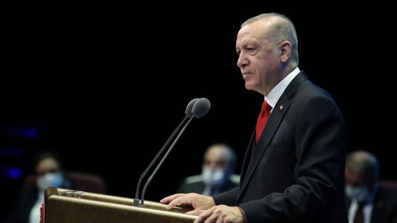 Cumhurbaşkanı Erdoğan'dan Fransız mallarına boykot çağrısı…