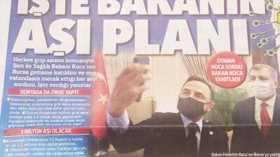Bakan Koca Bursa basınına neden sansür uyguladı?