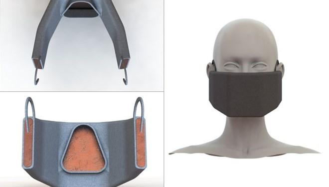 Koronavirüsü ısıtarak öldüren maske!
