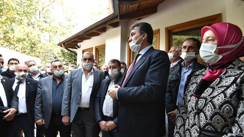 Başkan Dündar muhtarlar ile bir araya geldi