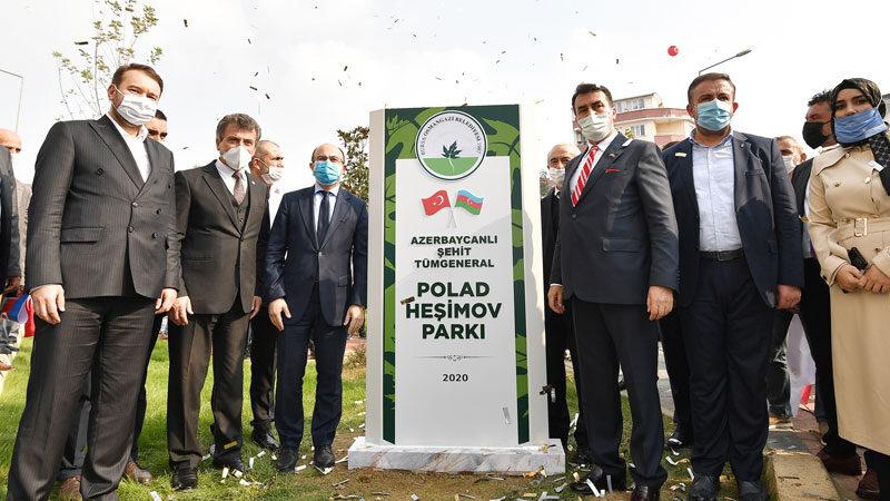 Azerbaycan'a Osmangazi vefası