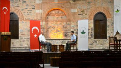 Osmangazi'den 'Bir Kitap, Bir Yazar' Söyleşisi