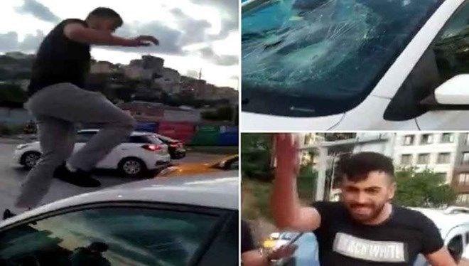 Trafikte tartıştığı kadına dehşeti yaşatan sanık tahliye edildi