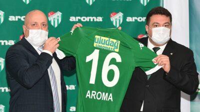 Bursaspor'a destek sürüyor… İki sponsor birden…
