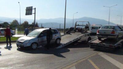Bursa Ankara karayolunda korkutan kaza