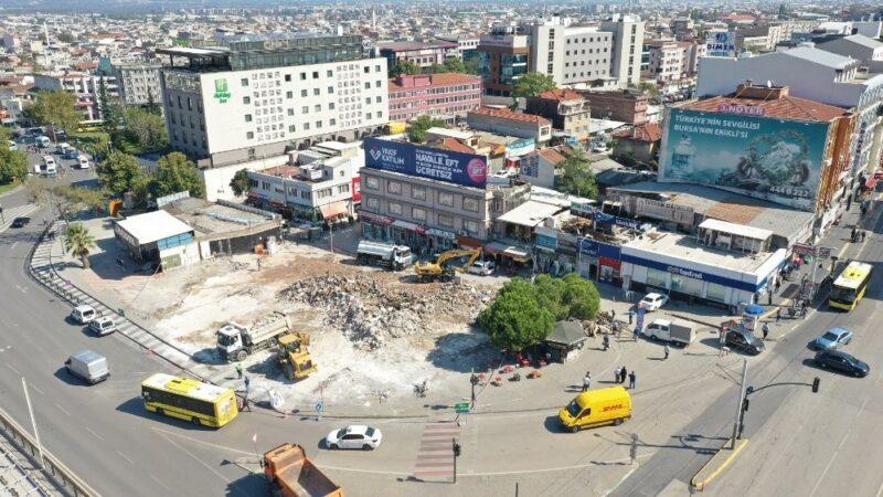 Bursa Kent Meydanı kararı! 64 bina…
