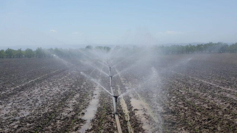 Bursa'da bu yıl içinde 622 bin dekar tarım arazisi sulandı