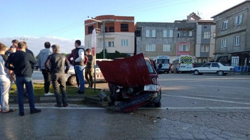 Bursa'da kaza göz göre göre geldi