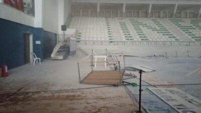 Bursa'da eski halterci spor salonunu talan etti