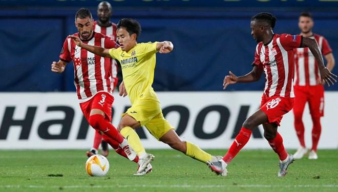 Villarreal-Sivasspor maçında 8 gol