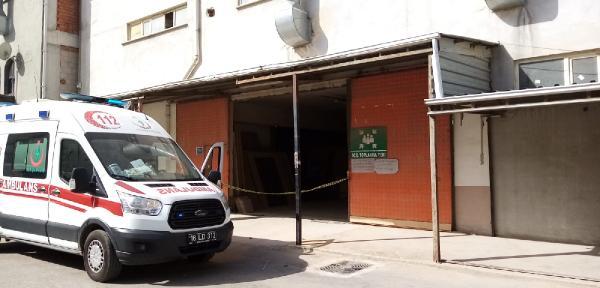 Bursa'da fabrikada korkunç son