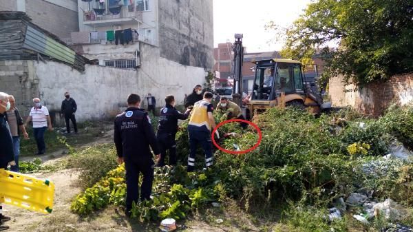 Bursa'da akıl almaz olay! Üzerine toprak döktüler