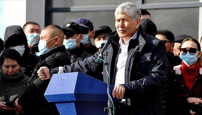 Eski Kırgızistan Cumhurbaşkanı gözaltına alındı