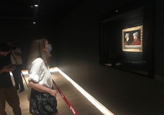 Fatih Sultan Mehmet'in tablosu ziyarete açıldı