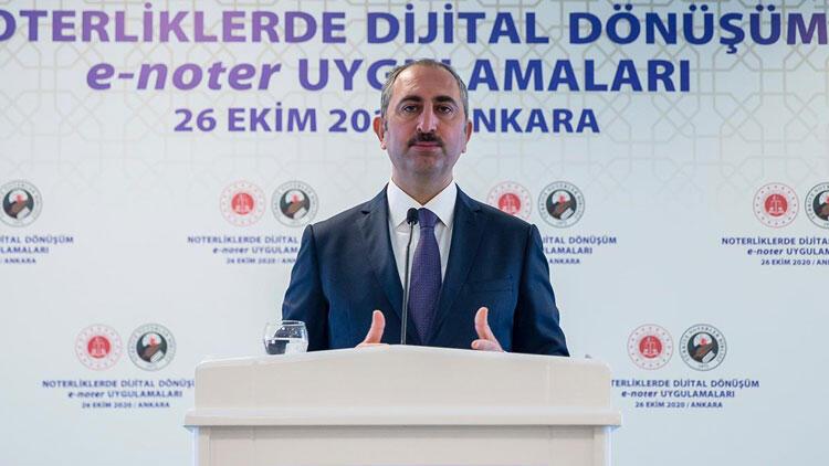 Adalet Bakanı Gül açıkladı! Noterlik için önemli hazırlık…