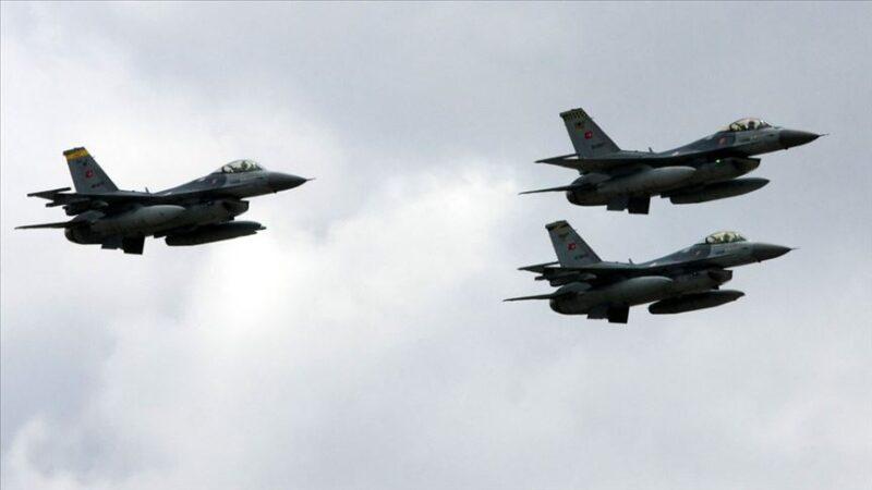 Irak'ın kuzeyine hava harekatı: 8 PKK'lı etkisiz hale getirildi