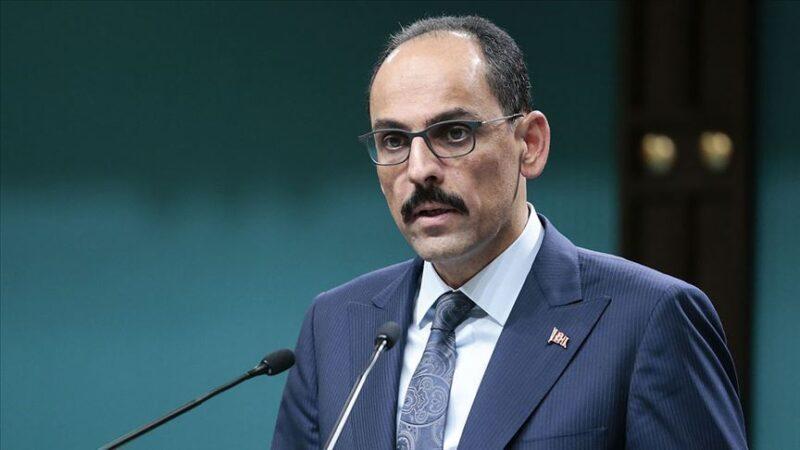 Cumhurbaşkanlığı Sözcüsü Kalın da koronavirüse yakalandı…