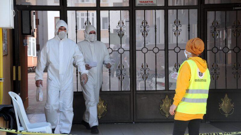 Koronavirüs tespit edildi! 94 daireli site izolasyonda
