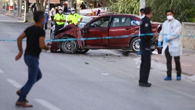 Korkunç kaza! 5 yaşındaki çocuk ile babası hayatını kaybetti