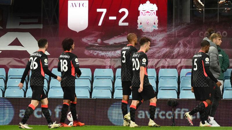 Liverpool dağıldı! Kalesinde tam 7 gol gördü…
