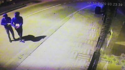 Yer: Bursa… Sigara hırsızları kamerada