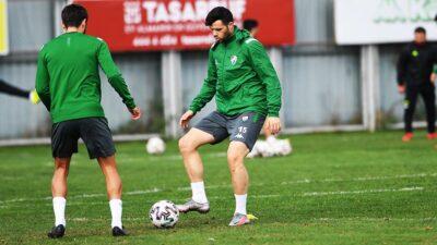 Bursaspor'da Menemenspor hazırlıkları tamam