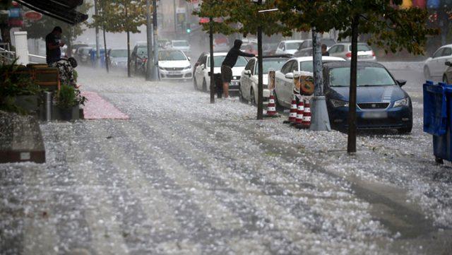 Meteoroloji'den, Bursa'nın da içinde olduğu 7 il için dolu ve fırtına uyarısı