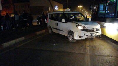 Bursa'da korkutan olay! Metrelerce sürüklendiler