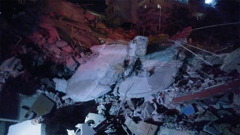 Bursa'da 3 ay önce boşaltılmıştı! 9 katlı bina çöktü…