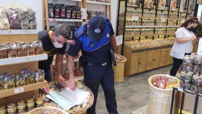 Osmangazi'de zabıtadan gıda denetimi
