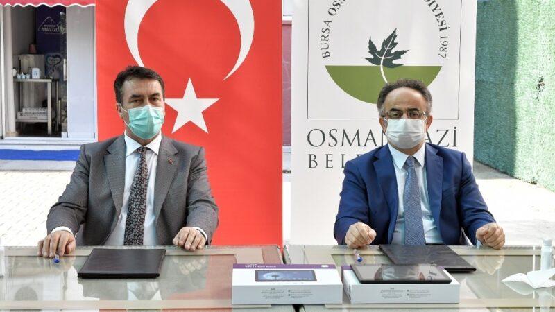 Osmangazi'den eğitime tam destek