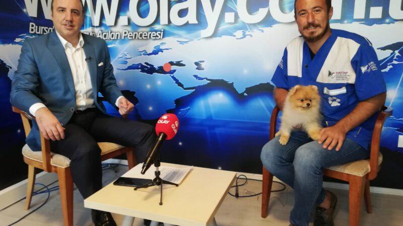 Her Eve Bir Pati Derneği Kurucusu Demir, OLAY Gazetesi Yazarı Mustafa Özdal'ın konuğu oldu…