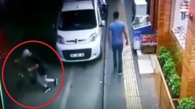 Bursa'da 20 saniyede bisiklet çalan hırsız kamerada!