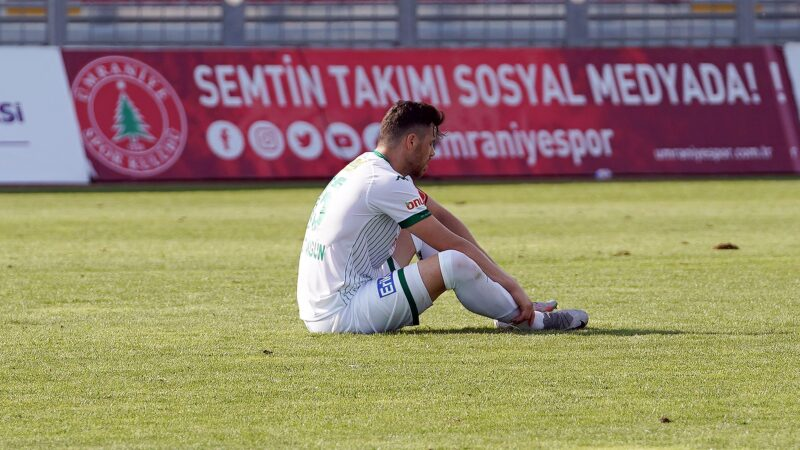 Bursaspor'un derdi savunma! 'Çözüm bulmalıyız'