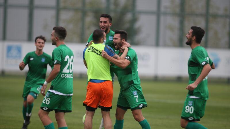 3.Lig'de zirve yürüyüşü… Bursa ekibi tek attı 3 aldı…