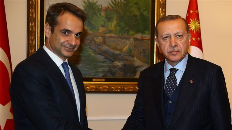 Cumhurbaşkanı Erdoğan, Yunanistan Başbakanı ile görüştü