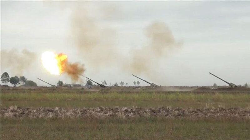Azerbaycan ordusu cephede üstünlüğünü sürdürüyor